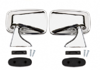 Universal Chrome Flag Mirror Set, Mk1 Golf, Caddy, Scirocco, Jetta,
